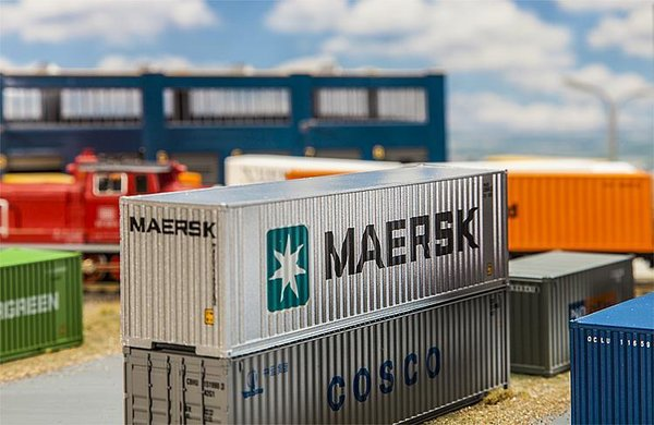 Faller 40' Hi-Cube Container MAERSK H0 180840