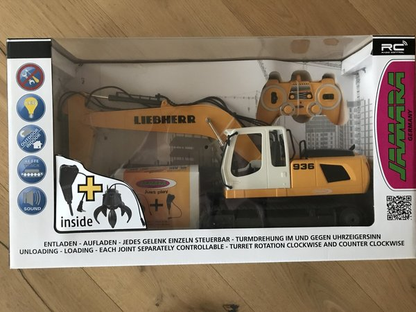 Jamara Bagger Liebherr R936 1:20 2,4G Destructions-Kit 405112