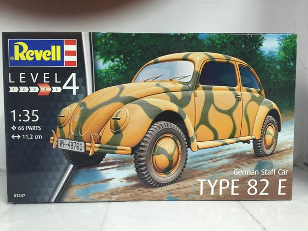 Revell German Staff Car Type 82E 1:35 03247