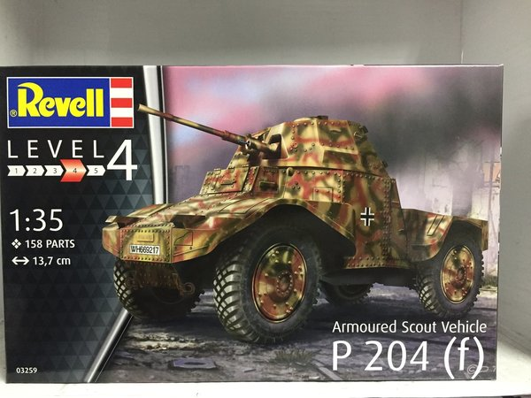 Revell Armoured Scout Vehicle P204(f) 1:35 03259