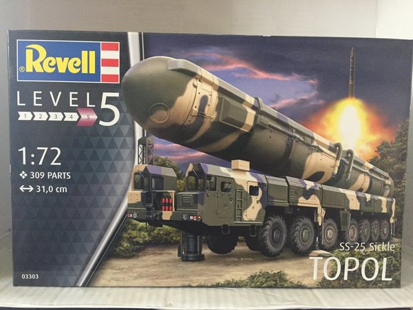 Revell TOPOL SS-25 Sickle 1:72 03303
