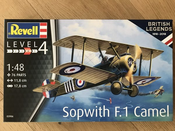 Revell British Legends: Sopwith F.1 Camel 1:48 03906