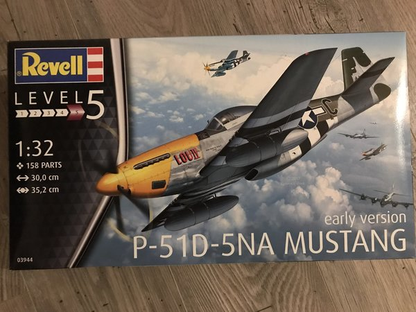 Revell P-51D-5NA Mustang (early version) 1:32 03944