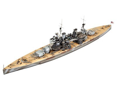 Revell Battlehip H.M.S. Duke of York 1:700 05105