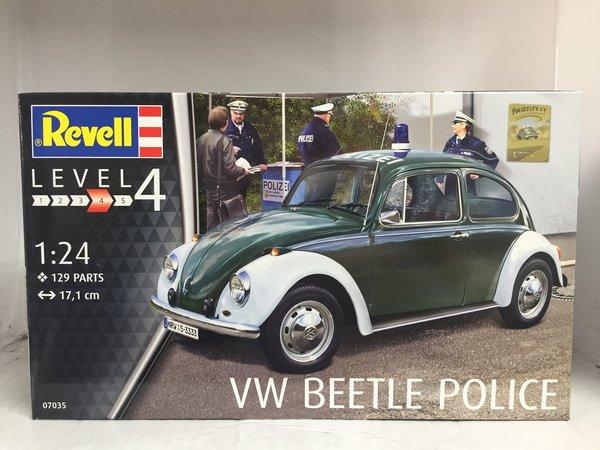"Revell VW Beetle ""Police"" 1:24 07035"