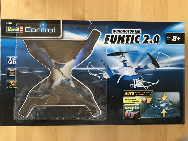 Revell RC Quadcopter FUNTIC 2.0 RTR 23878