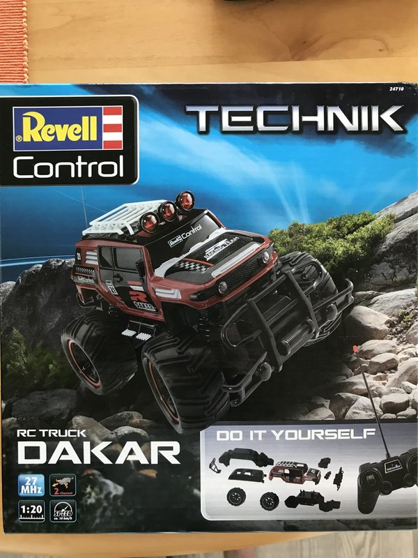 Revell RC Construction Kit Car DAKAR RTR 24710