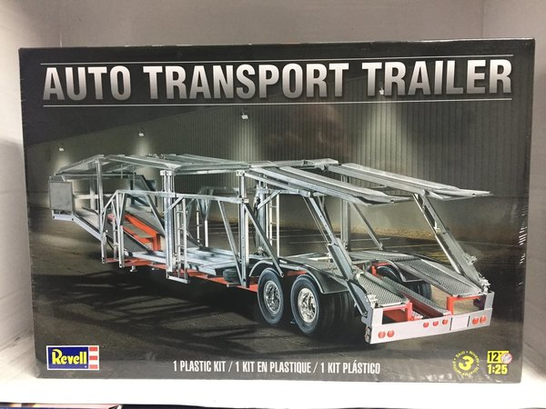 Revell US 1/25 Auto Transport Trailer Plastic Model Kit 85-1509