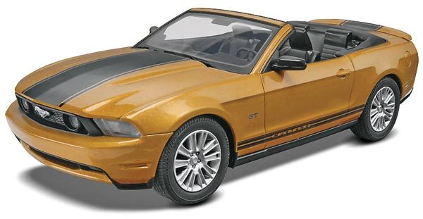 Revell 1/25 2010 Ford Mustang Convertible Plastic Model Kit 85-1963