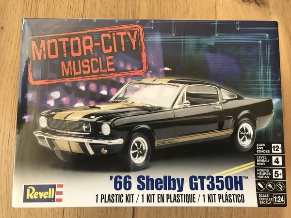 Revell US 1/24 Shelby® Mustang GT350H Plastic Model Kit 85-2482