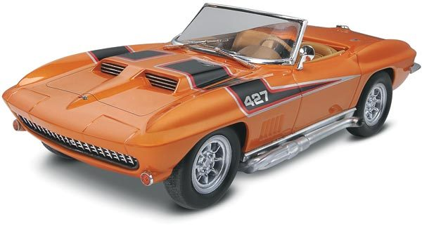 Revell 1/25 '67 Corvette® Plastic Model Kit 85-4087