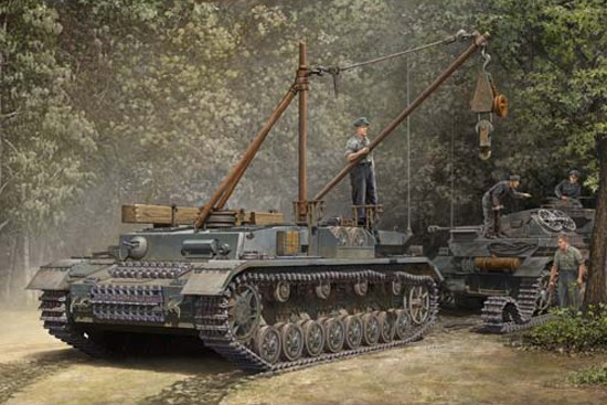 Trumpeter German Bergepanzer IV Recovery Vehicle 1:35 00389