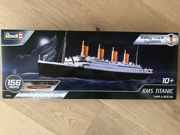Revell RMS TITANIC 1:600 Easy-click 05498