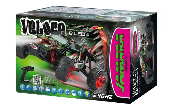Jamara Veloce Monstertruck 1:10 4WD Lipo 2,4G LED 053371