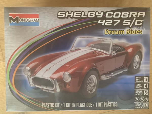 Revell US 1:24 Shelby Cobra 427 S/C 85-4011