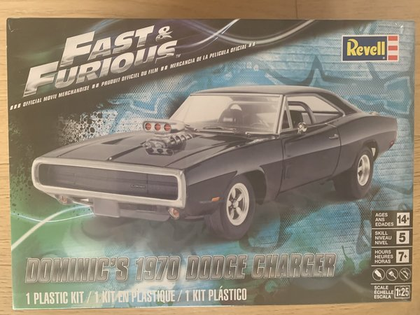 Revell US Dominic´s 1970 Dodge Charger 1:25 85-4319