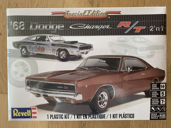 Revell US 1:25 ´68 Dodge Charger R/T 85-4202
