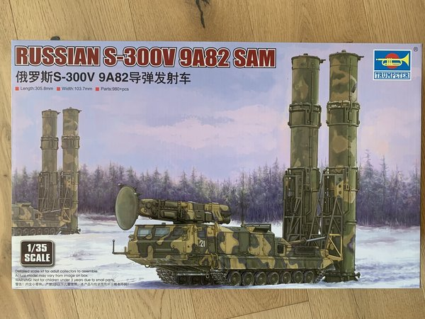 Trumpeter 1:35 9518 Russian S-300V 9A82 SAM 09518