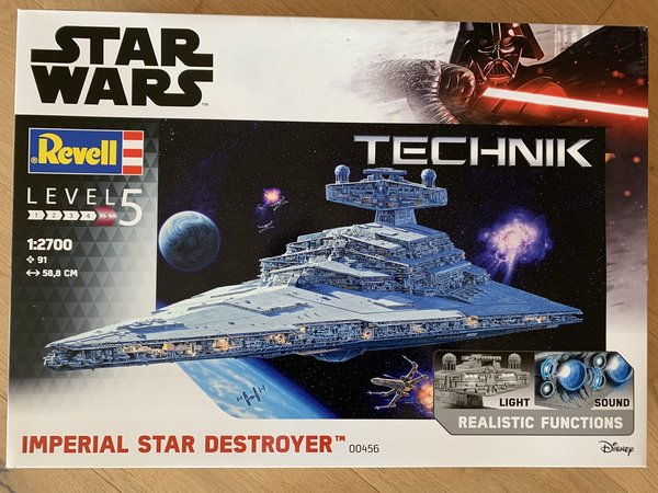 Revell Technik Star Wars Imperial Star Destroyer 1:2700 00456
