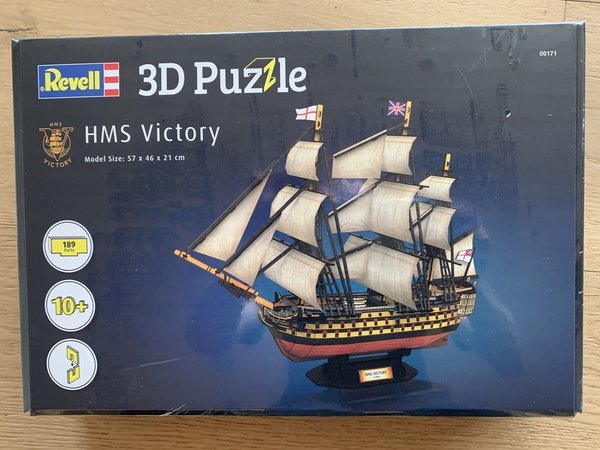 Revell 3D Puzzle HMS Victory 00171