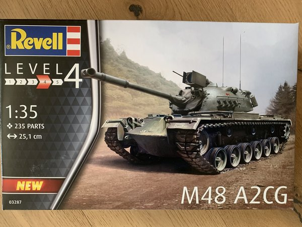 Revell M48 A2CG 1:35 03287