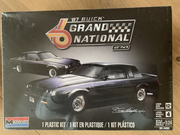 Revell US 87´Buick Grand Natinal 1:24 14495