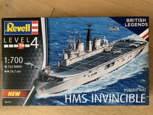 Revell HMS Invincible (Falkland War) 1:700 05172