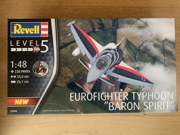 "Revell Eurofighter Typhoon""BARON SPIRIT"" 1:48 03848"