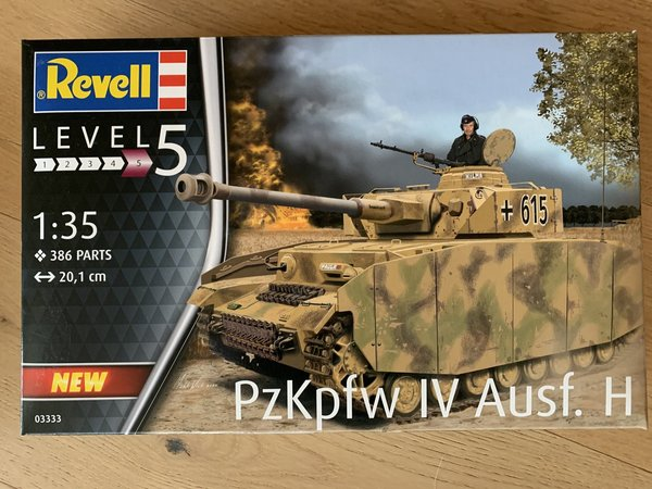 Revell Panzer IV Ausf. H  D. WWII 1:35 03333