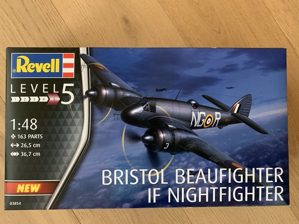 Revell Beaufighter IF Nightfighter 1:48 03854
