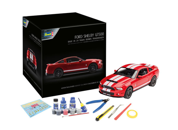 Revell Adventskalender Ford Shelby GT 1:25 01031