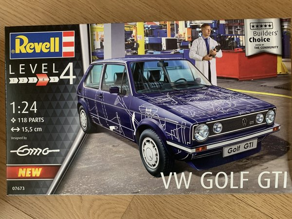 "Revell VW Golf GTI ""Builders Choice"" 1:24 07673"