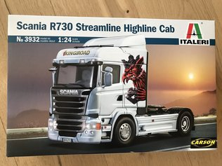 Italeri 1:24 SCANIA R730 Streamline Highline Cab  3932