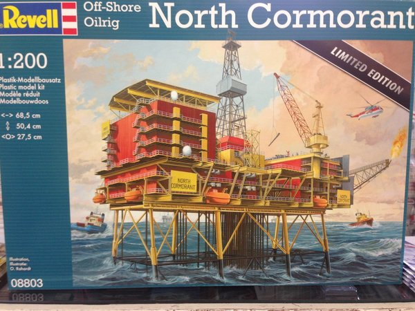 Revell Off-Shore Oilrig North Cormorant 1:200 08803