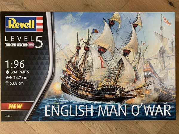 Revell English Man O'War 1:96 05429