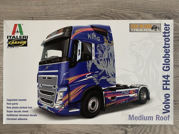 Italeri 1:24 Volvo FH4 Globetrotter /Medium Roof 3942